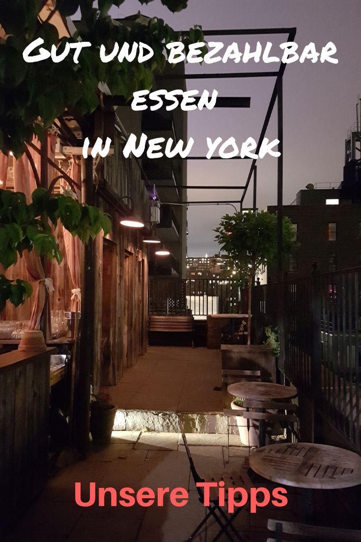 Essen in New York - gut und nicht zu teuer