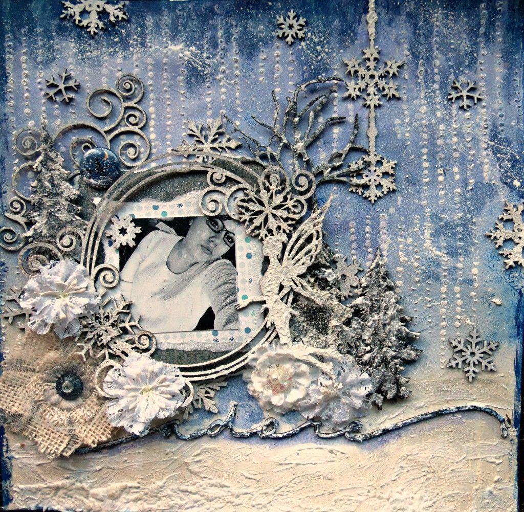 Nicole Kramer - December Challenge - Creative Embellishments #decemberchallenge