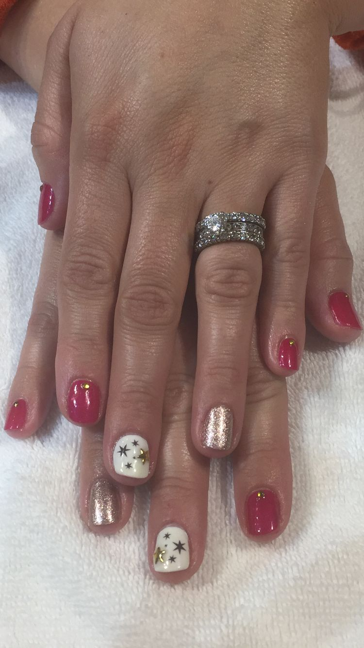 Stellar Nail Art Star Decals And Studs By Mojo Spa In Chicago