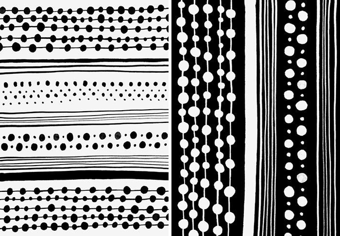 Illustration Dots Stripes Geometrics Illustration Pottery Painting Background Patterns
