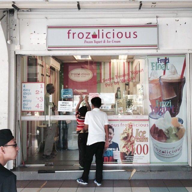 Frozilicious Singapore Halalyogurt Halalfrozo Tampines