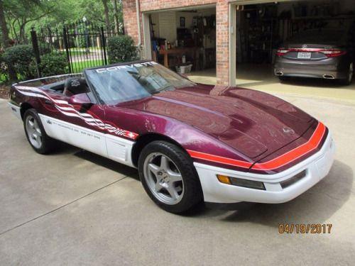 1995 Indy 500 Corvette Pace Car Indy 500 Bmw