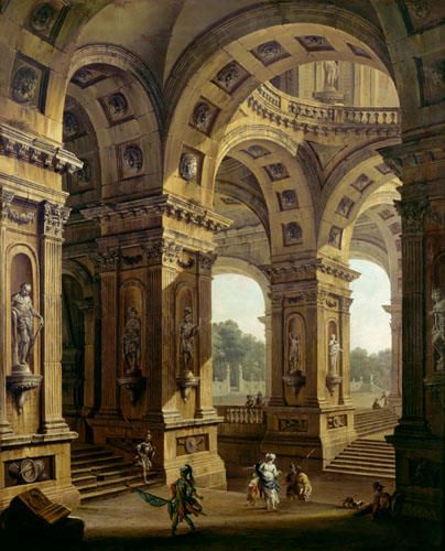 Roman Architecture: Roman Palace Architecture With Roman