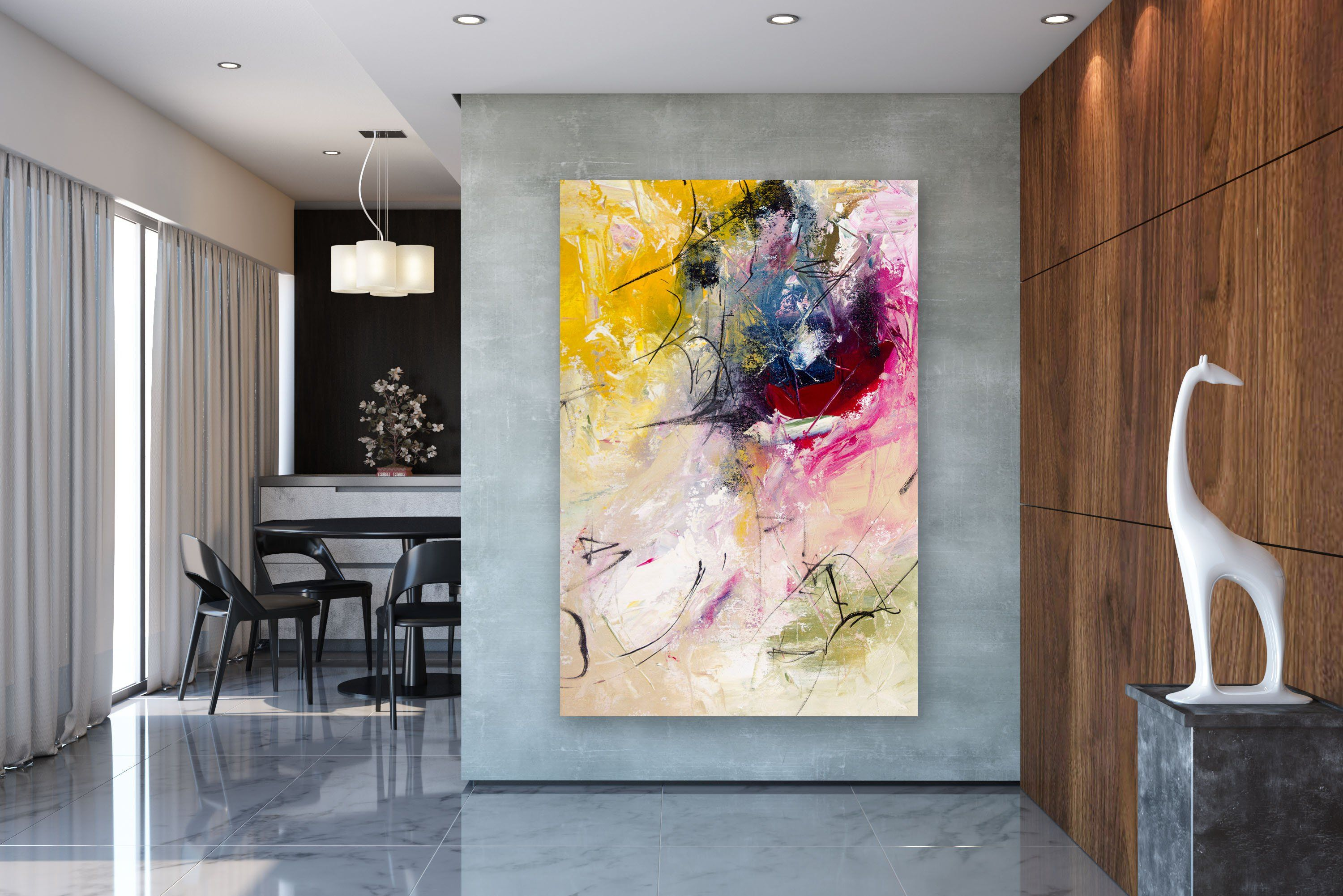 Large Modern Wall Art Painting Large Abstract Wall Art Acrylics Paintings Abstract Originals Bathr Modern Wall Canvas Art Gallery Wall Modern Abstract Painting