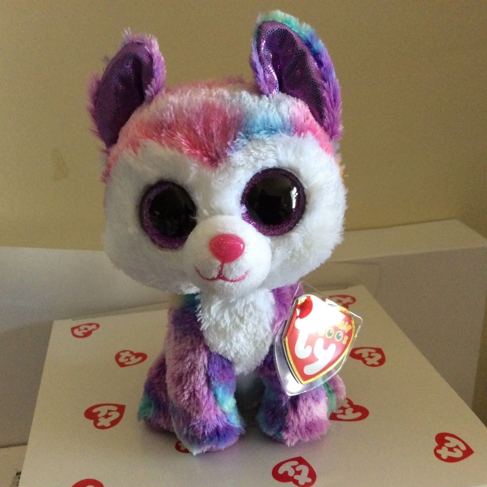 b5091c8e345 Current 438  Ty Beanie Boo Izabella The Husky 6 Claire S Exclusive Mwmts -   BUY IT NOW ONLY   29.99 on  eBay  current  beanie  izabella  husky  claire  ...