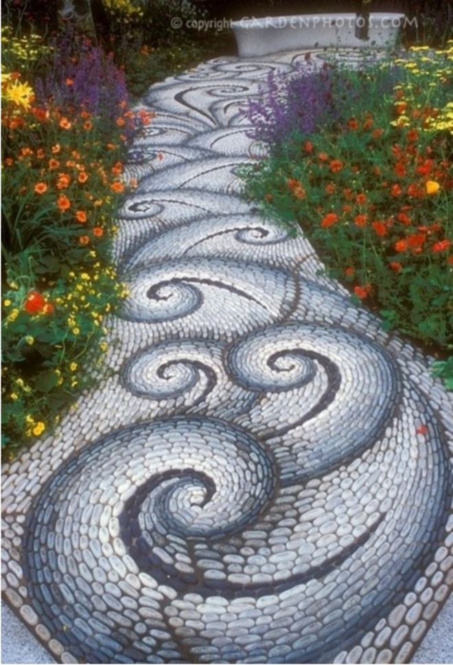 13 whimsical garden paths