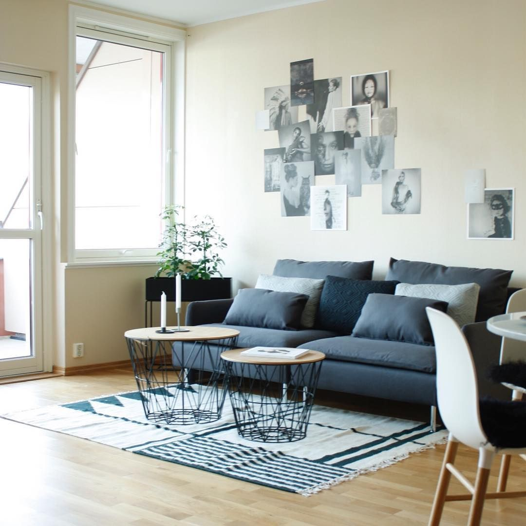 ferm LIVING Wire Basket Kelim rug and Plant box See the newest