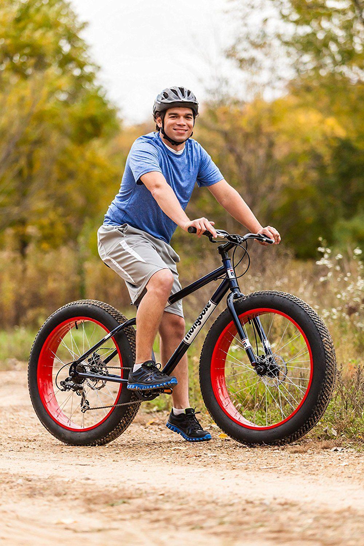 Mongoose Men S Dolomite Fat Tire Bike Blue 26 Inch Sports Outdoors