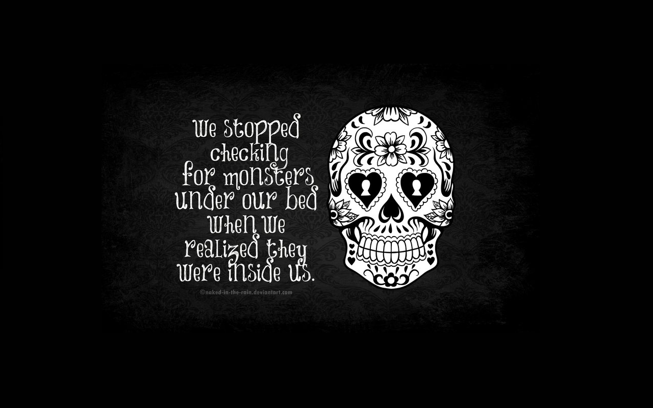 Cheap Quotes Abstract Artwork Monsters Skulls Wallpapers Widescreen Backgrounds With Beauty Dark Skull