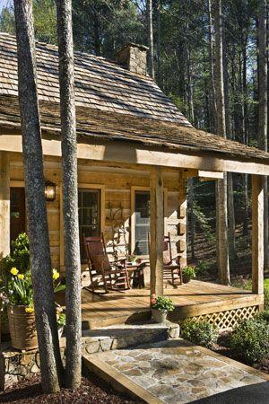 Rustic Cabin Rústico Pinterest Cabañas, Casas y De campo