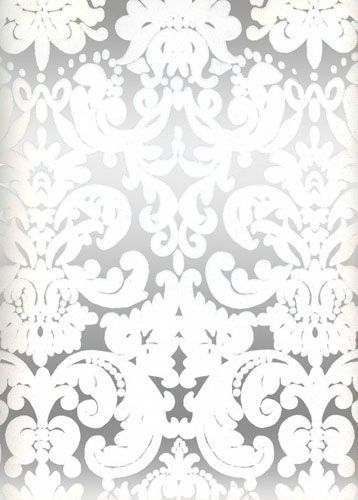 Wallpaper silver white for bedroom accent wall