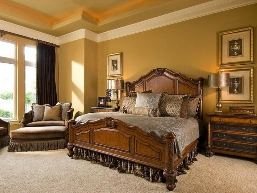 Gold Painted Bedrooms Google Search Modern Bedroom Colors