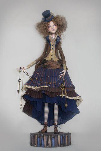"""Manon"" - art doll by Anna Zueva."