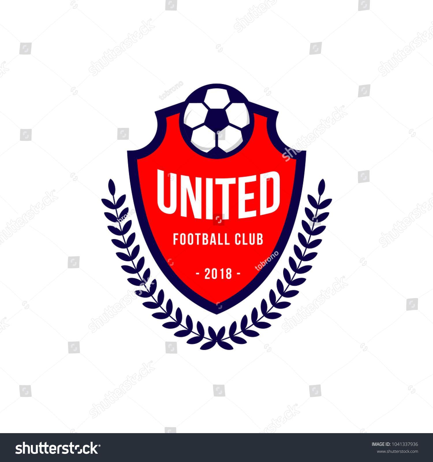 United Football Club Logo Vector Template Design Ad Sponsored