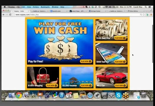 Play free games to win prizes and money