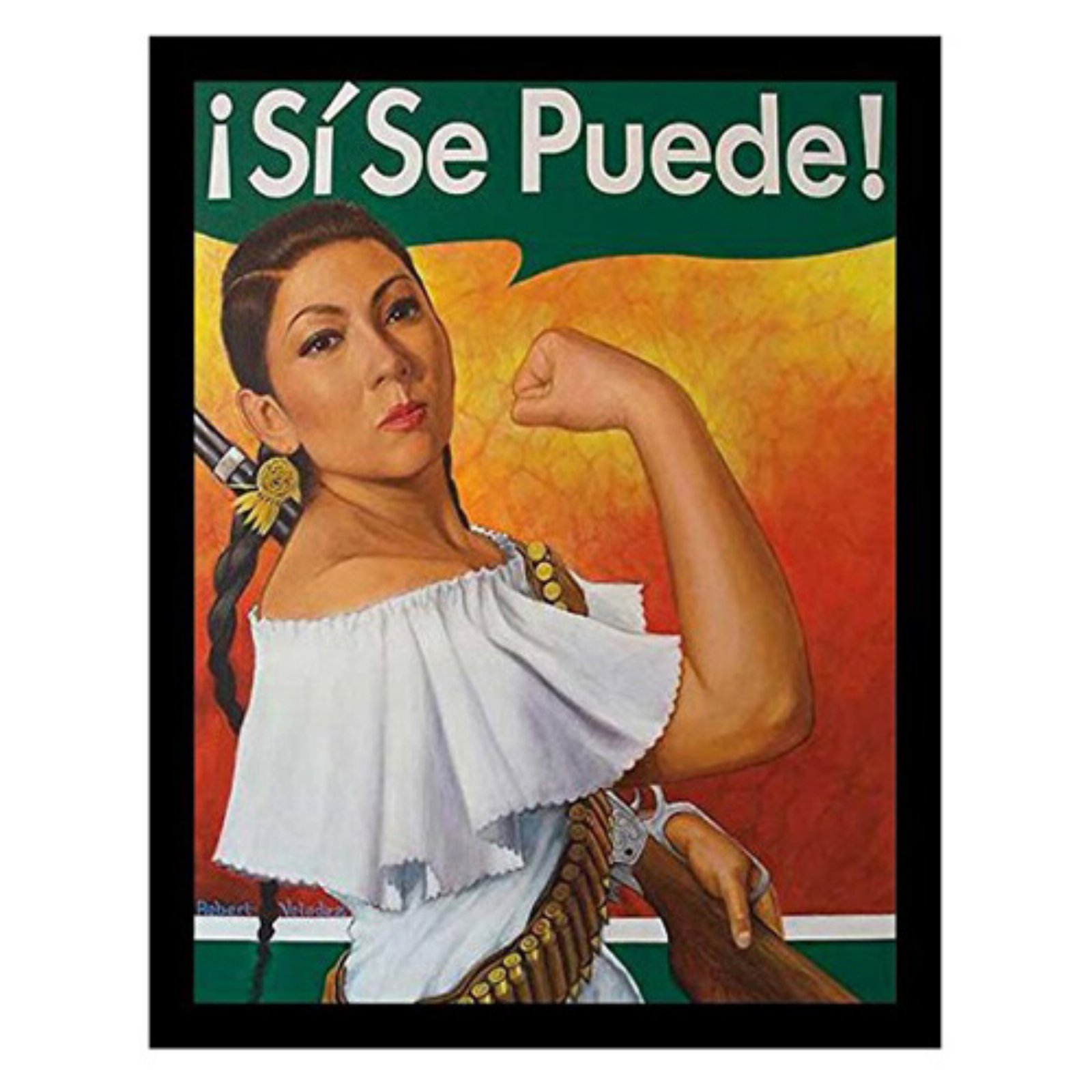 Selena Si Se Puede Poster