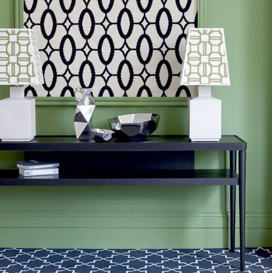 Best Ways To Redecorate With Green: Pin På Hallways & Entryways