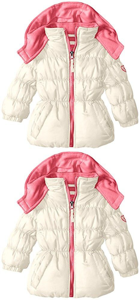 20a8ebe77604 Pink Platinum Baby Girls  Ripstop Puffer