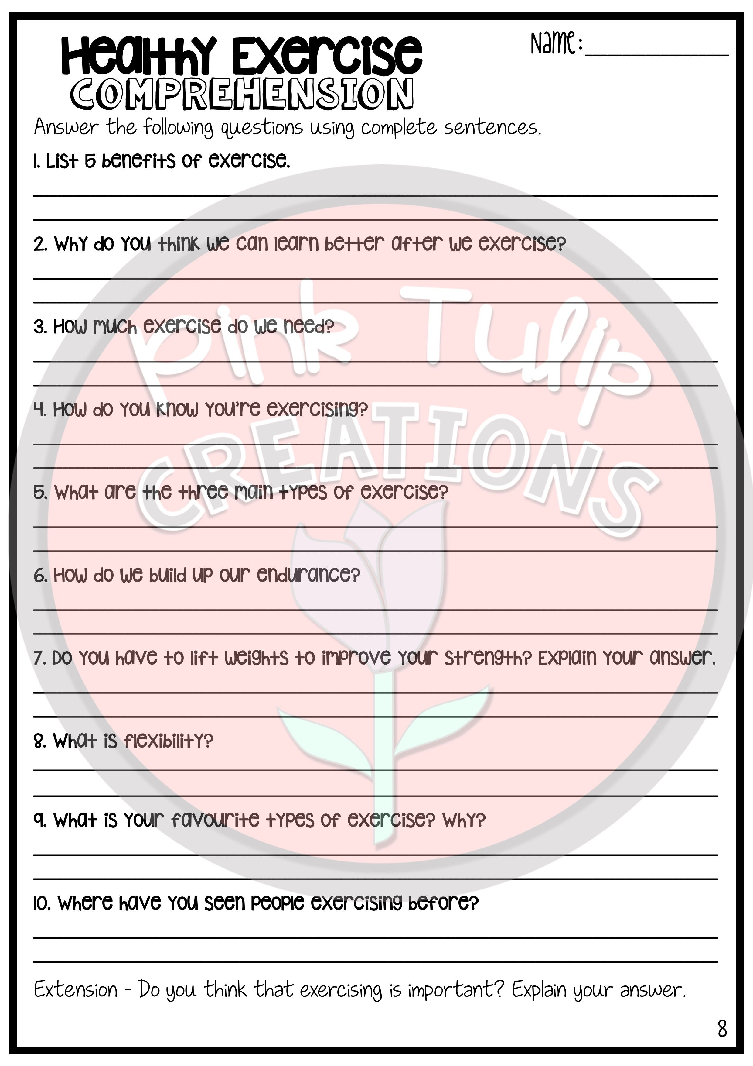 hight resolution of Healthy Snack Worksheet   Printable Worksheets and Activities for Teachers