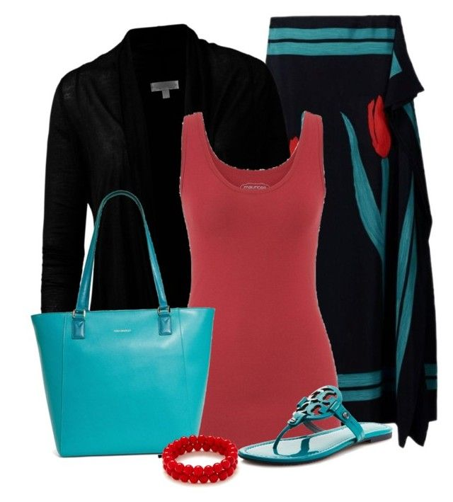 """""""Untitled #1061"""" by lisamoran ❤ liked on Polyvore featuring Marni, maurices, Tory Burch and Vera Bradley"""