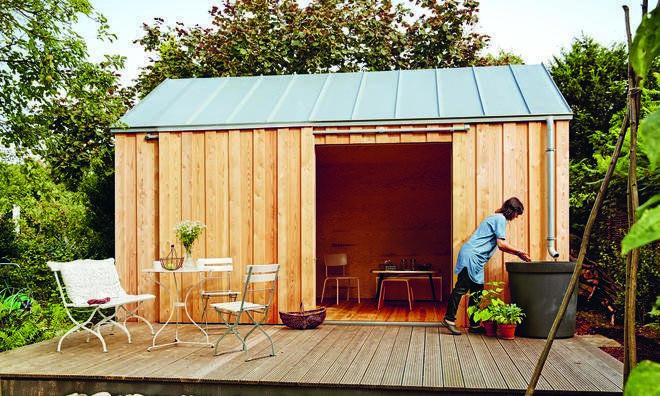 GartenhausIdeen für den Schrebergarten (mit Bildern