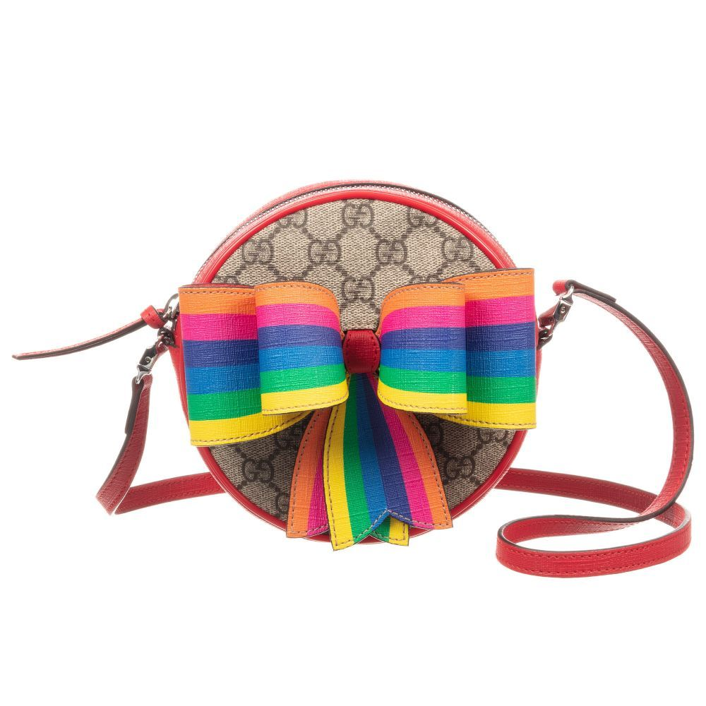 47063b68706 GG Supreme Bow Bag (16cm) for Girl by Gucci. Discover more beautiful  designer Bags for kids online