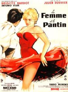 """""""La femme et le pantin"""" by Julien Duvivier with Brigitte Bardot. (1959)"""