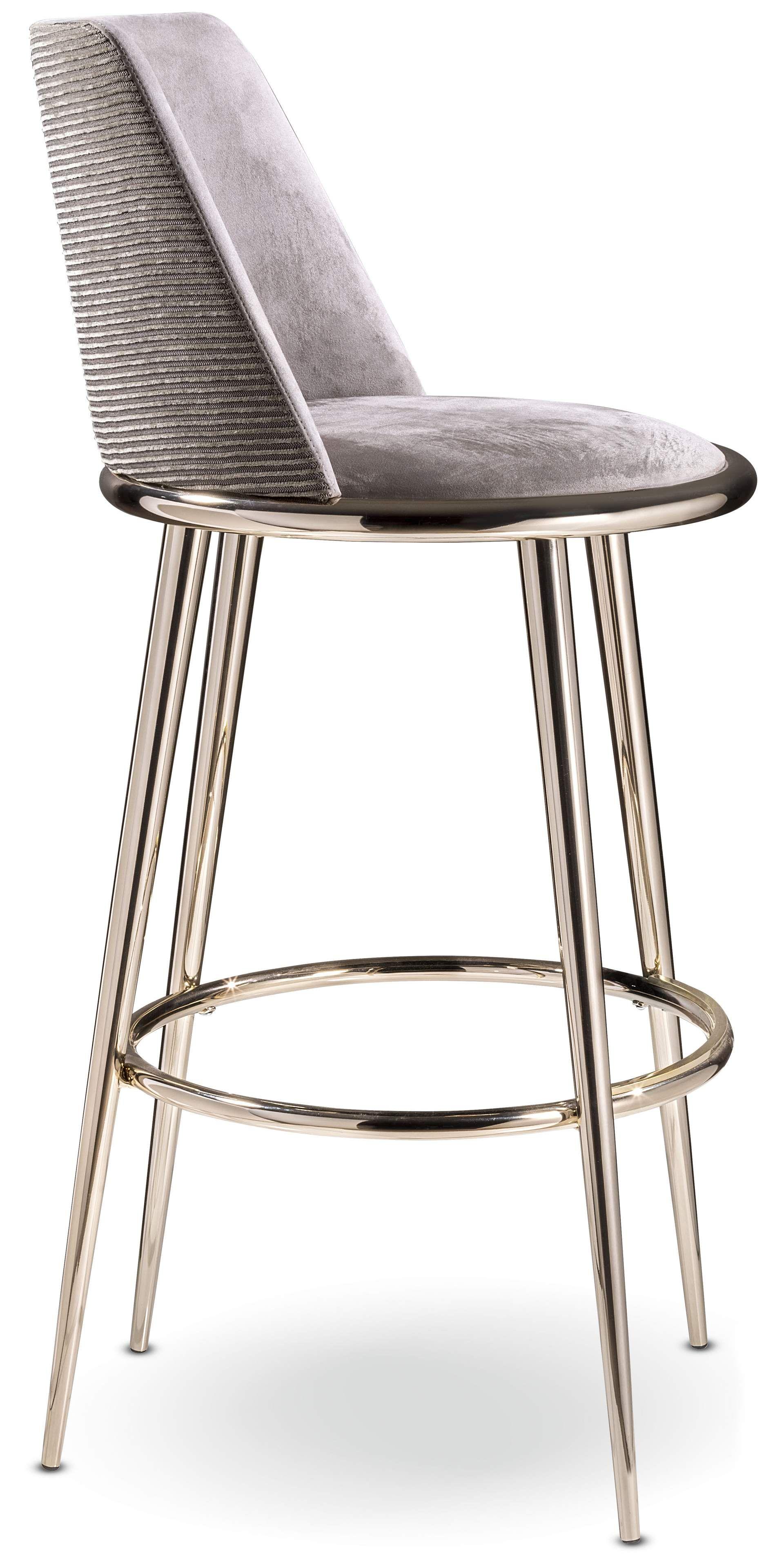 Aurora Padded Stool Cantori Italy Furniture Dining Chairs Stool Designer Bar Stools