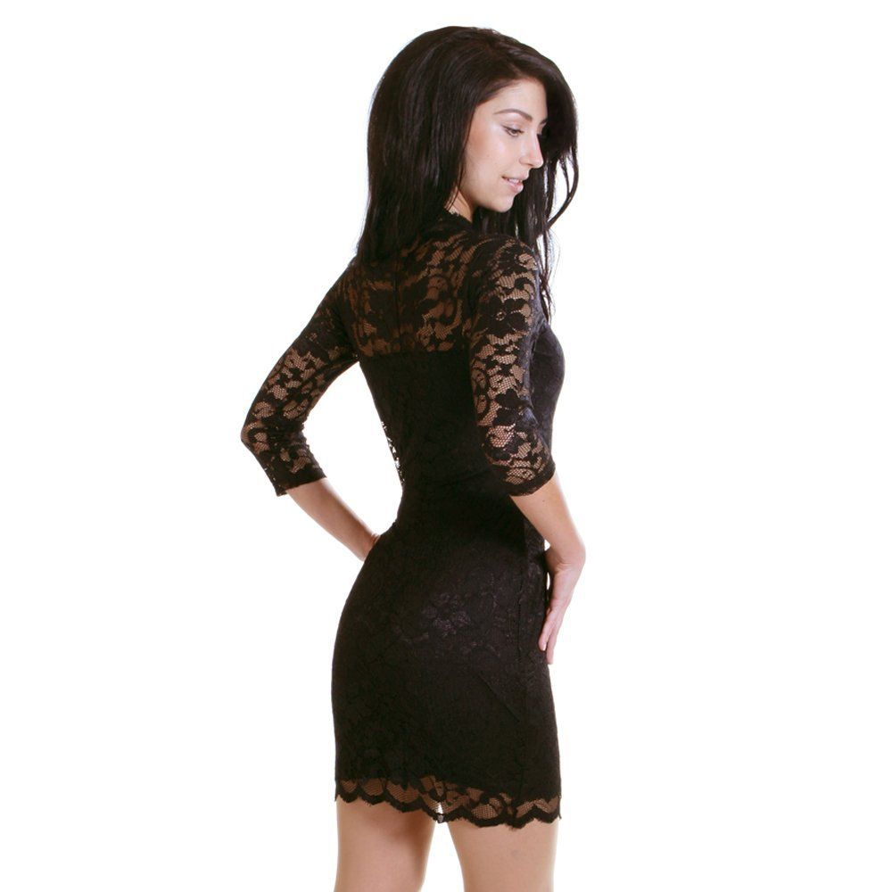 party party. wish the lace would reach down in the back til a little above the butt... would be sexier but still classy i think..