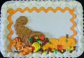 Fall Or Thanksgiving Sheet Cake Thanksgiving Cakes Decorating Fall Theme Cakes Fall Cakes Decorating