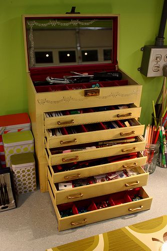 Coolest toolbox for art supplies
