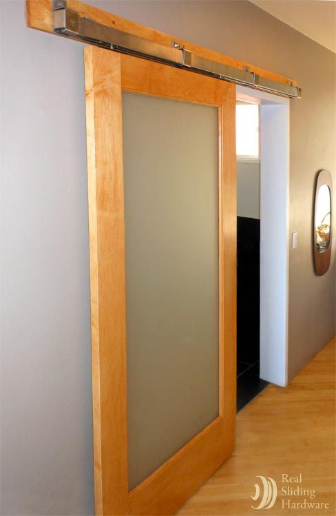 . Master bathroom entrance barn door    Doors   Barn door designs