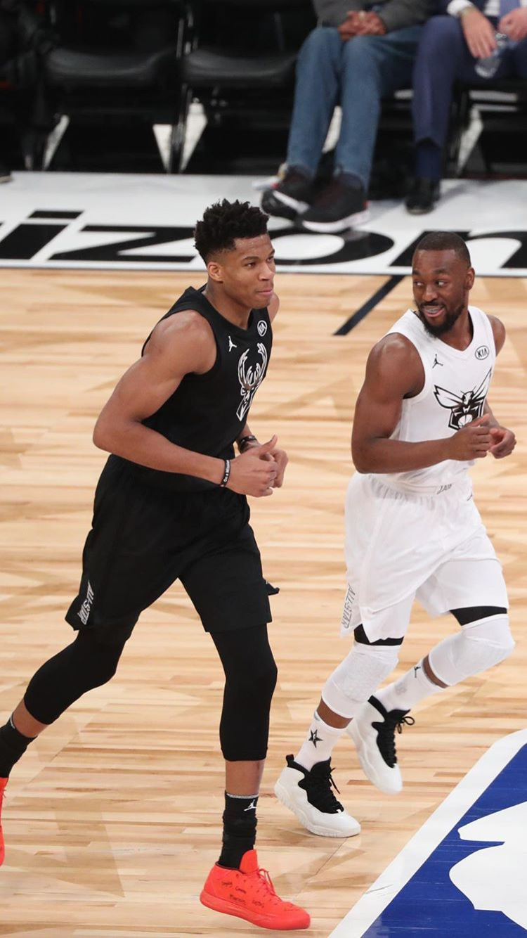 Giannis and Kemba Walker | 2018 NBA All