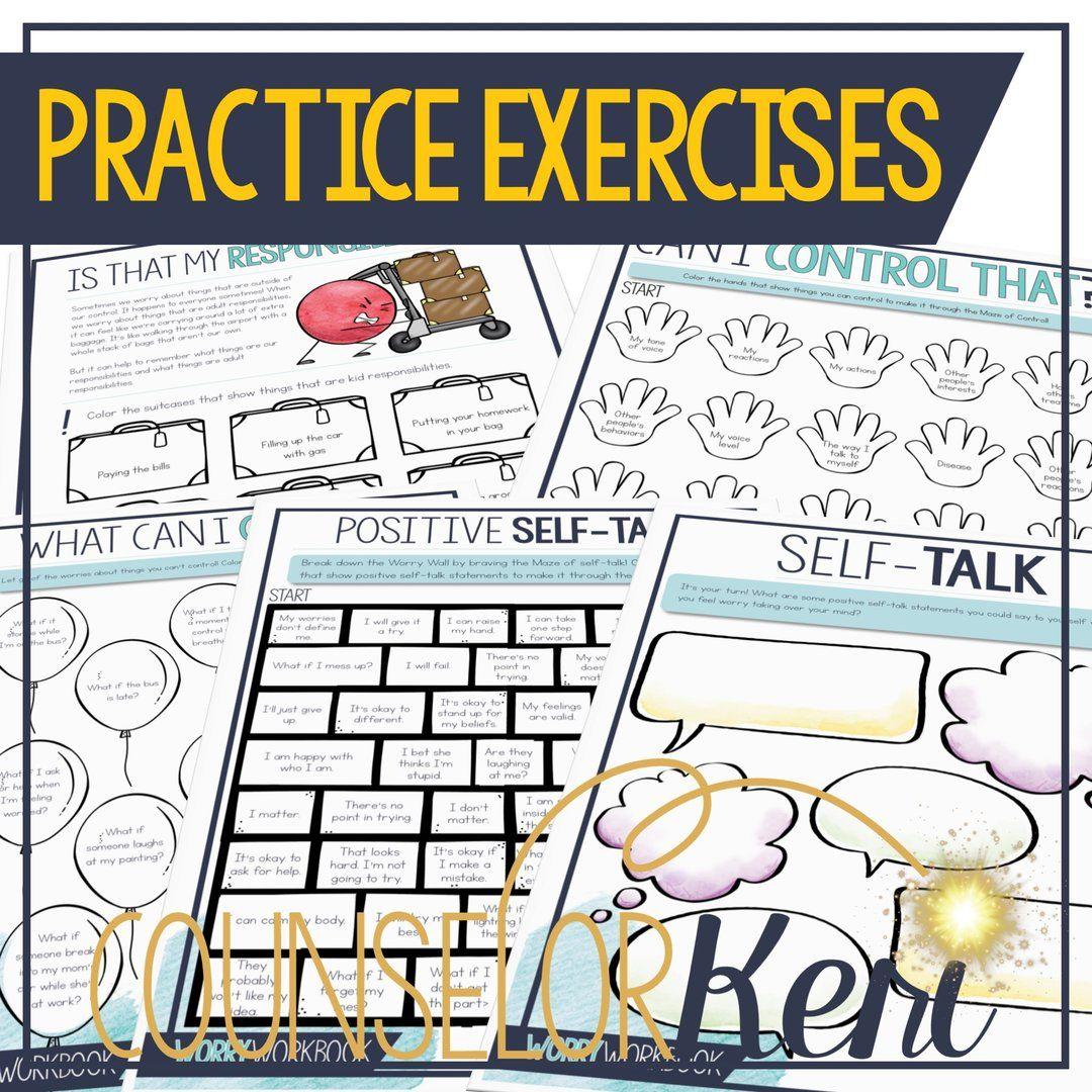 Worry Workbook Worry Management Journal