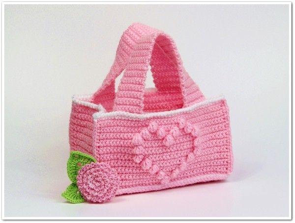 Kleine Kindertasche Häkelanleitung Für Anfänger Häkeln