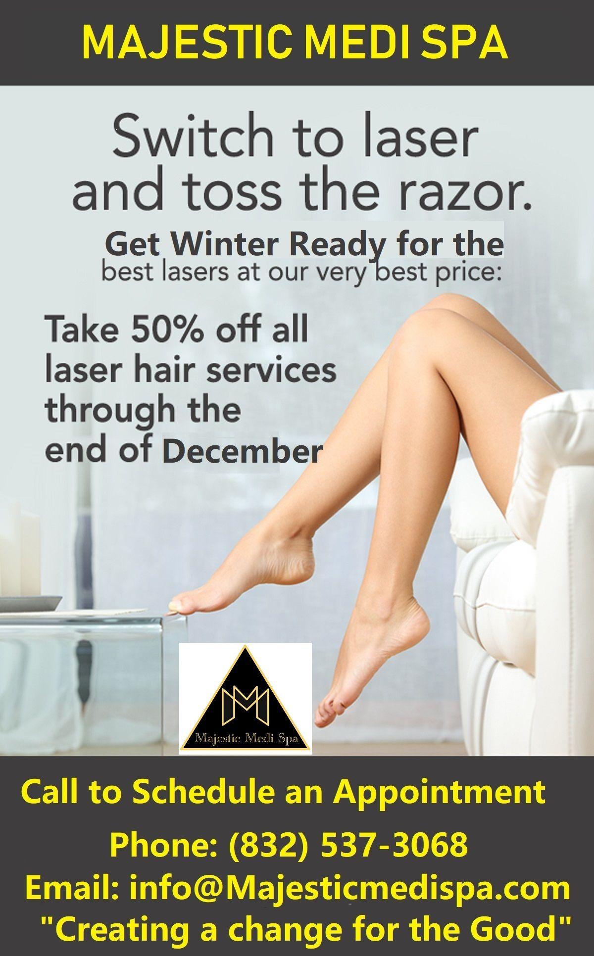 Get 2550off Medispa, Cosmetic dentistry, Laser hair