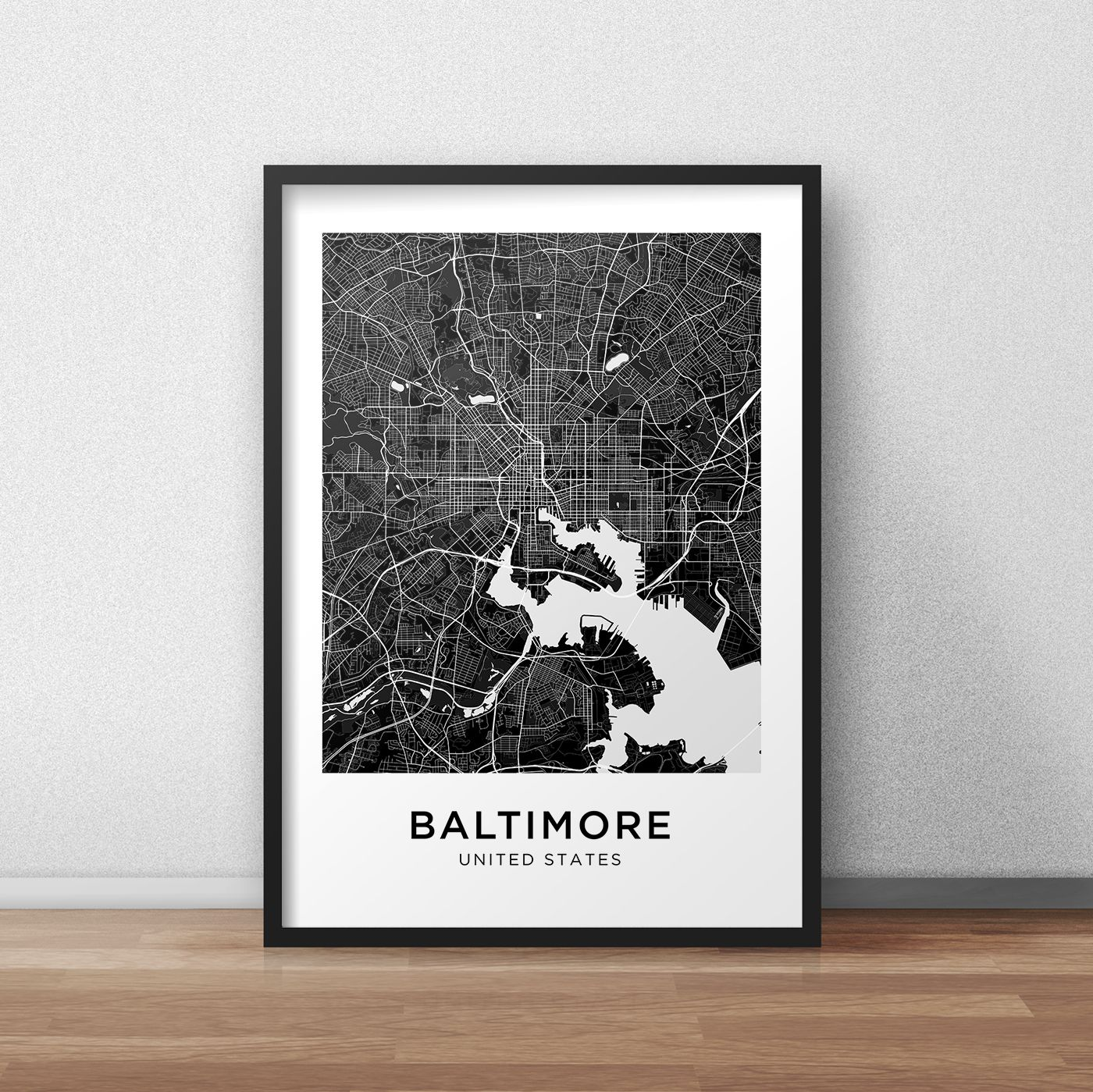 Perth City Lines Map Wall Art Poster Print Great Home Decor