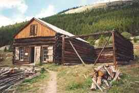 Independence - Colorado Ghost Town Can stop to/from Indepen. Pass