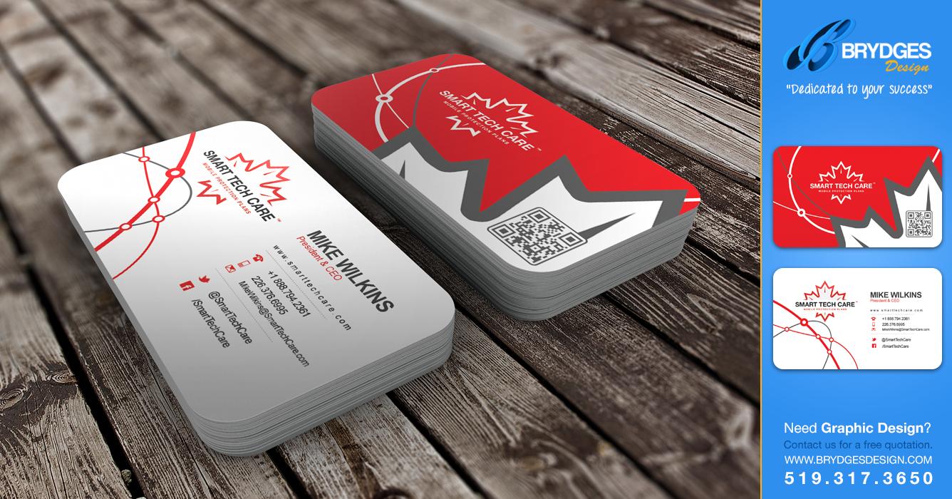 Smart tech care business cards brydges design london ontario smart tech care business cards brydges design london ontario reheart Choice Image