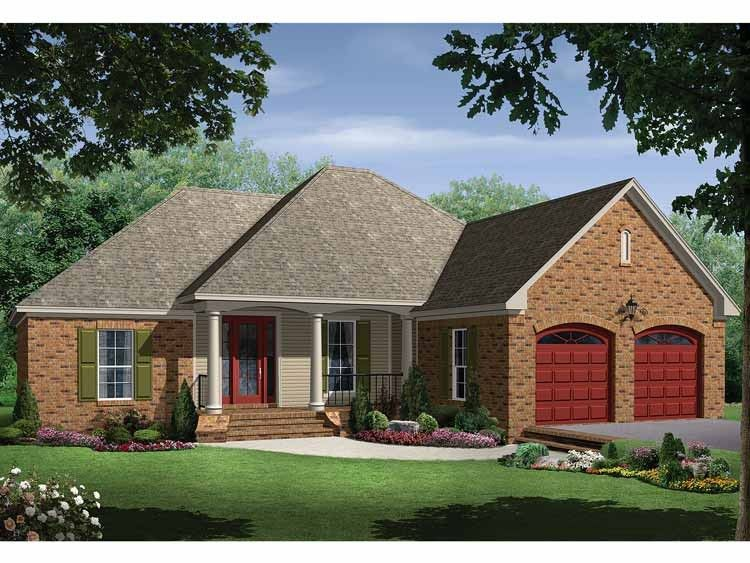 Traditional Style House Plan 3 Beds 2 Baths 1500 Sq Ft Plan 21 215 House Plan Gallery Country Style House Plans New House Plans