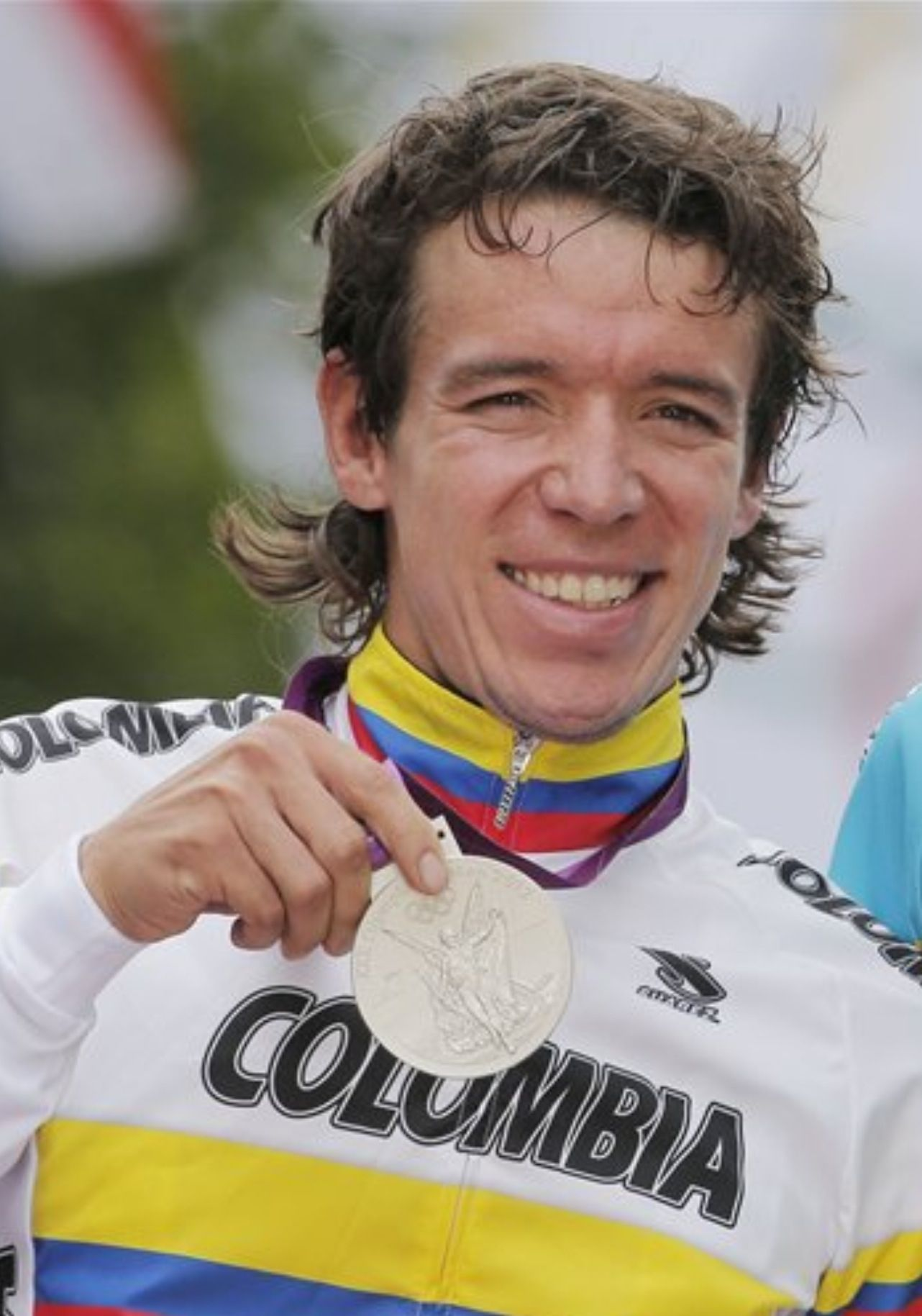 Rigoberto Uran Cyclist From The Antioquia Region Of Colombia Won Silver Medal