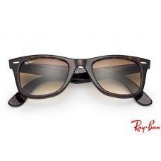 12b6803d8c9c6 Ray Bans RB2140 Original Wayfarer Classic with Tortoise frame and Light  Brown Gradient lenses