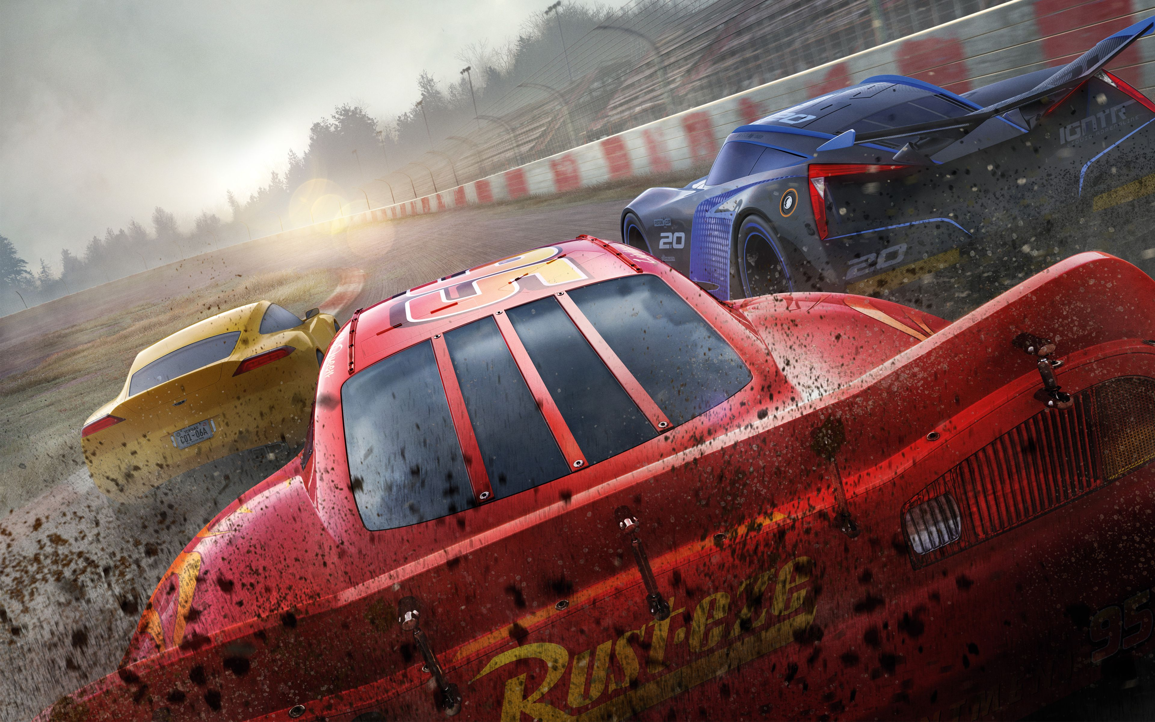 Cars 3 Movie 4K 8K | Cars Movie | Pinterest | Movie
