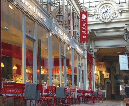 Le Stube, restaurant, passage Verdeau 75009 Paris