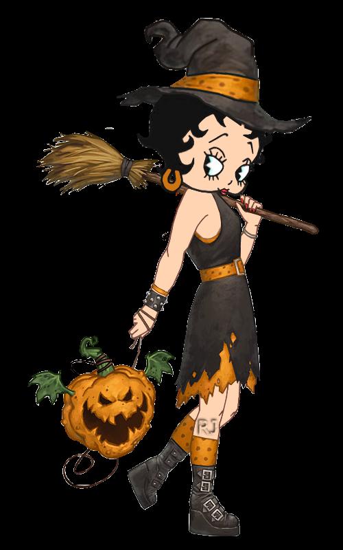 Pin By Elizabeth Falcon Rocha On Betty Boop Halloween Fantasy Witch Halloween Artwork Halloween Art