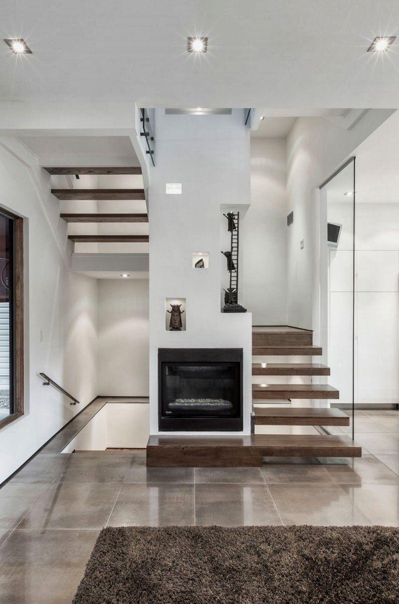 Dise o de interiores arquitectura casa con arquitectura for Interior de la casa de madera moderna