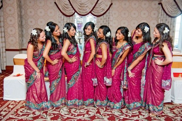 6cde62925f New Jersey Indian Wedding by Events Capture | Bridesmaids ...