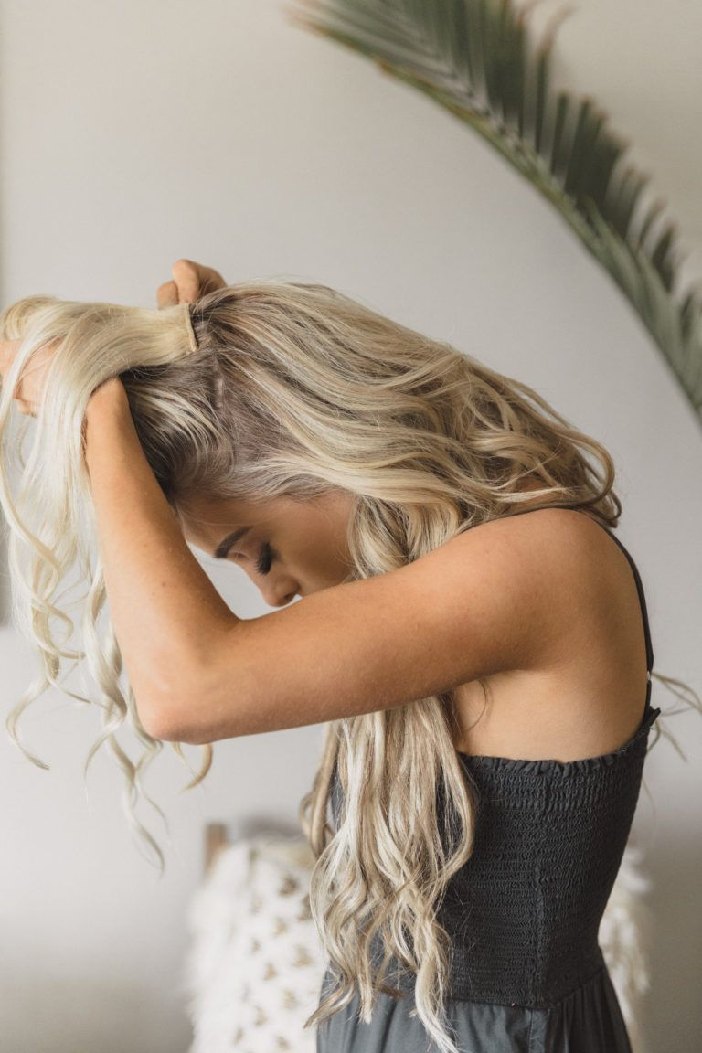 2 fun and flirty hairstyles with clip in extensions with