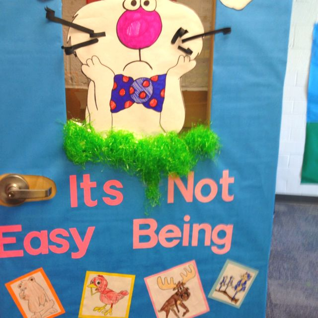 Easy Door Decorating Ideas: Door Decorating Contest For March Is Reading Month....my