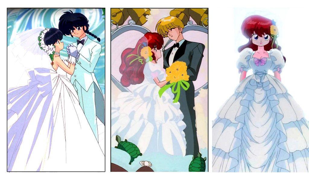 ranma similar weddings by hainfinkledeviantartcom on